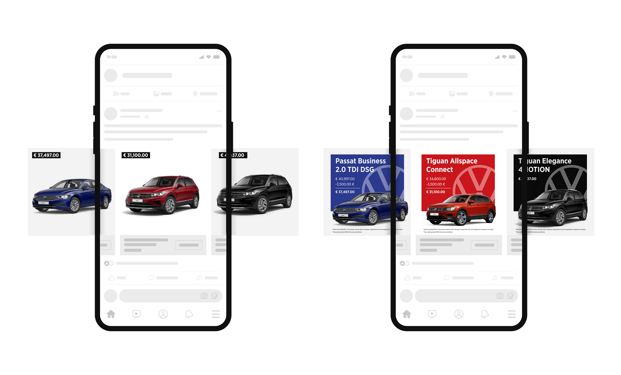 facebook automotive dynamic ads vs hunch